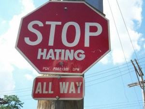 Stop Hating!
